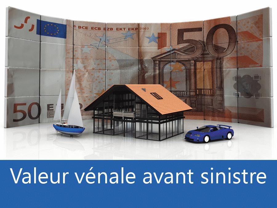 Valeur vénal avant sinistre 69, valeur des biens assurance Lyon, expert valeur vénale Rhone,